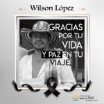 En Aguadas asesinaron al líder social Wilson López
