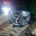 Dos heridos dejó un accidente entre un automóvil y una tractomula en la vía a Letras