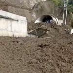 Deslizamiento de tierra causa cierre de la vía por la Línea